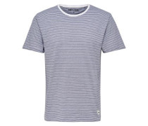 Gestreiftes T-Shirt weiß