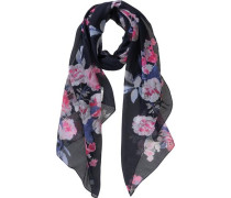 Schal nachtblau / rosa