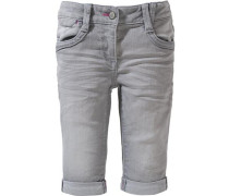 3/4 Jeans Regular Size grey denim