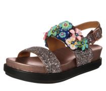 Sandale 'Sharon' mit Glitzer-Verzierungen mischfarben