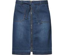 Lässiger Jeansrock mit Zipper blue denim