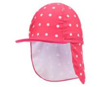UV-Schutz-Cap 'nitzarisa' dunkelpink / rot