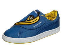 Minions X 'Basket Wrap' Statement SneakerKinder blau / dunkelgelb