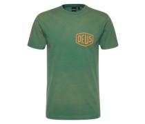 Shirt 'Venice' grün / hellorange