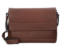 'Do it' Messengerbag Leder 37 cm braun