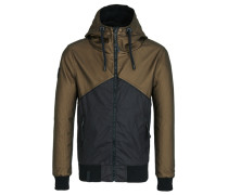 Male Jacket E blau / braun
