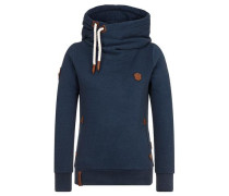 Hoody 'Dirty Darth' blau