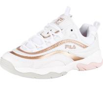 Sneaker 'Ray' puder / weiß