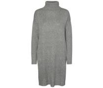 Kleid mit langen Ärmeln grau