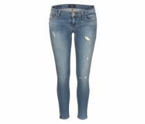 Skinny-fit-Jeans 'mina' hellblau