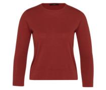 Pullover aus Baumwolle 'Essentials' braun