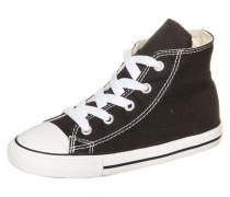 Chuck Taylor All Star High Sneaker Kleinkinder schwarz