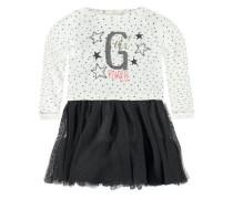 2tlg. Kleid + T-Shirt langärmlig Set mischfarben