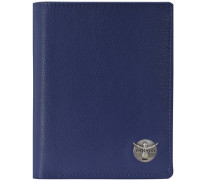 Classic Geldbörse Leder 99 cm blau