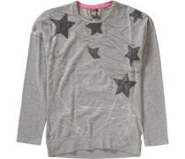 Langarmshirt für Mädchen grau