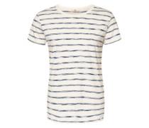 T-Shirt Stripe blau / weiß