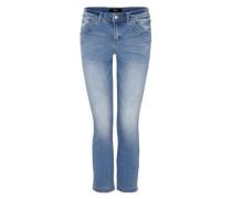'Sienna Slim' Helle 7/8-Jeans blue denim