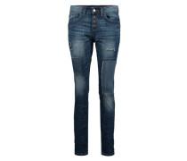Destroyed Jeans blau