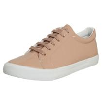 Sneaker in Lackleder-Optik pink