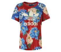 Oversize T-Shirt 'C BF Tee' blau / blutrot