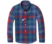 Hemd 'multi Color Check Shirt L/s' mischfarben