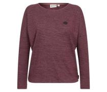 Female Sweatshirt 'Zeich ma Titten' pitaya / rot
