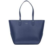 'Pure Kornelia' Shopper Leder dunkelblau