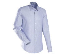 City-Hemd ' Blue Label ' blau