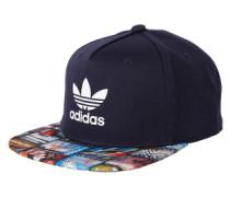 Cap mit Foto-Prints 'snb CAP Bts' blau