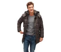Jacket Steppjacke mit mehreren Taschen kastanienbraun