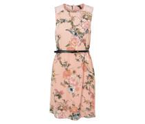 Spitzen Kleid mischfarben