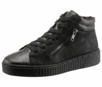Sneaker anthrazit / schwarz