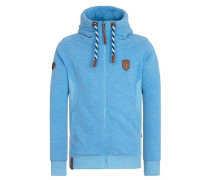 Zipped Jacket 'Birol Jeck V' hellblau