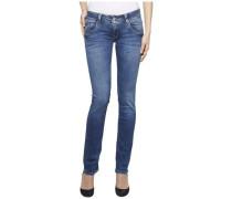 "Jeans ""low Rise Straight Viola Rybst"" blau"