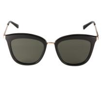 Sonnenbrille 'Caliente' gold / schwarz