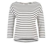 Sweatshirt 'Inge 3' dunkelblau / weiß