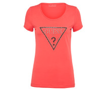 T-Shirt 'RN Triangle' kirschrot