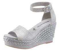 Sandalette grau