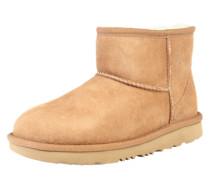 Snow Boots 'Classic mini II' hellbraun