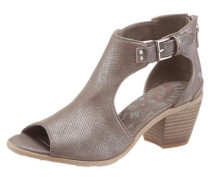 Sandalette dunkelbeige