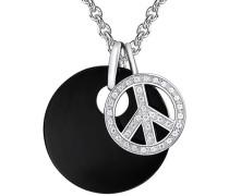 Kette mit Anhänger 'Peace'