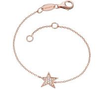 Armband mit Zirkonia 'Stern Lil' Erb-Lilstar-Zi-R' rosegold