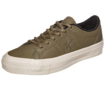 Cons One Star Leather OX Sneaker khaki
