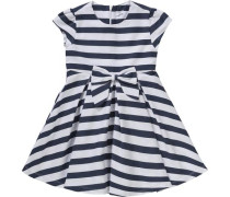 Kinder Kleid dunkelblau / naturweiß