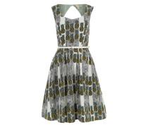 Sommerkleid 'Pineapple Stripe' weiß / mischfarben