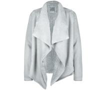 Sweatjacke 'jacket Sherpa' grau