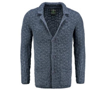 Strickjacke 'ST Peak jacket' blau