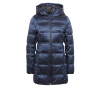 Coat Steppmantel mit Kapuze navy
