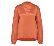 Bluse aus Seide 'Svetlana' orange