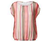 Blusenshirt pink / beige